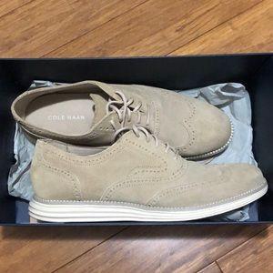 Cole Haan suede loafer sneaker 9.5